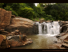 Exploring tamil nadu waterfalls 12 (lensbug.chandru) Tags: pictures morning b trees wild india white black color green fall nature beautiful leaves rock stone forest trek canon river dark logo landscape photography grey evening landscapes is waterfall big rocks asia day slow mark room w tripod scenic picture kerala full explore filter ii waterfalls rush frame nd shutter 5d chubby exploration chennai dharma chandru tamil density nadu neutral 24105 1635 unexplored monfrotto