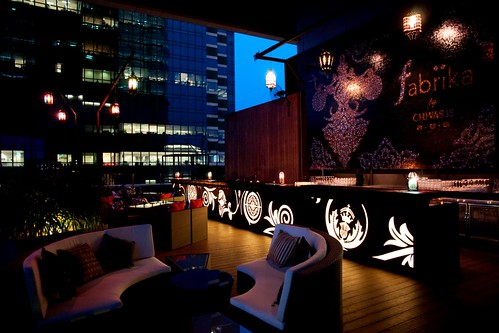 Fabrika By Chivas 18 – New Sky Terrace Bar in Singapore