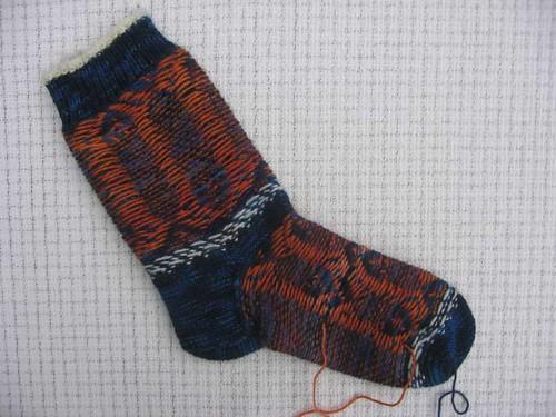 Piscean Sock inside out