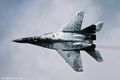 Slovak Air Force MIG-29 Fulcrum,  repulonap.hu Hungarian air show