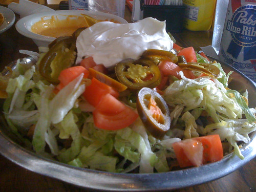 Jerk Chicken Nachos from R.P. Tracks