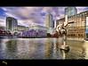 South Quay (Muzammil (Moz)) Tags: city london docklands canarywharf hdr moz canadasquare isleofdogs southquay marshwall muzammilhussain