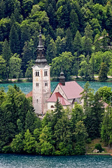 Slovenia - Lake Bled - Church on the Lake (Darrell Godliman) Tags: travel trees copyright lake travelling tower tourism beach church forest landscape island nikon europe eu landmark spire slovenia bled slovenija iconic europeanunion allrightsreserved lakebled travelphotography julianalps cerkev europeseunie slovenien unineuropea instantfave unioneuropenne radovljica republikaslovenija omot travelphotographer cerkevmarijinegavnebovzetja flickrelite dgphotos darrellgodliman wwwdgphotoscouk scenicsnotjustlandscapes d300s dgodliman pilgrimagechurchoftheassumptionofmary churchoftheassumptionofmary bohinjski nikond300s seriesx3 slovenialakebledchurchonthelakedsc2353