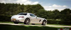 Mercedes-Benz SLS OMG.. ehhrr... AMG (Luuk van Kaathoven) Tags: nikon shot mercedesbenz van panning sls amg 300sl gullwing luuk d80 autogetestnl luukvankaathovennl autogetest kaathoven
