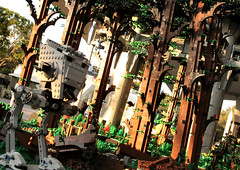 forest moon patrol (olo) Tags: california fan starwars lego legoland endor fbtb landingplatform miniconvention sandlug brickplumber