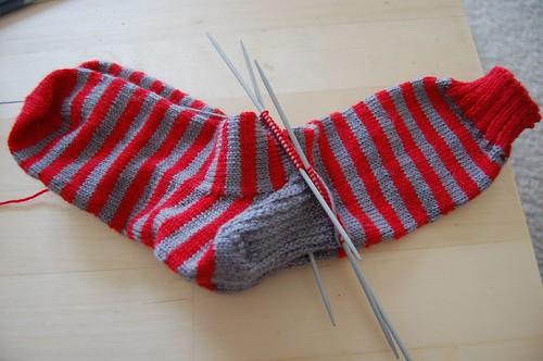 WIP: Meg's socks