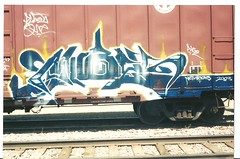 PUBES (BGIZL) Tags: graffiti trains masons pubes boxcars nct