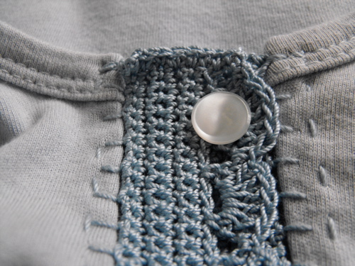 Altered cardigan - button