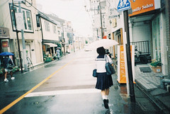 (i'm Jac) Tags: street film girl japan analog tokyo student lomo lca snapping lomolca crossprocessing 100of2010