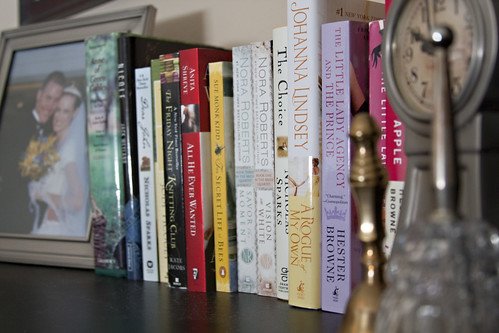 Books on my dresser