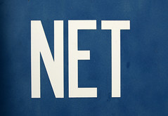 NET (chrisinplymouth) Tags: blue white net word onewordnet langeng threeletter cw69x chrisinplymouth
