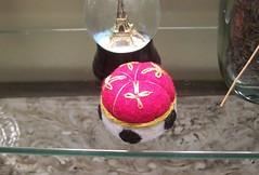 Royal Pillow Pin Cushion (Gviolet2010) Tags: king pin royal pins queen crown pincushion etsy needles cushion cushions upcycle