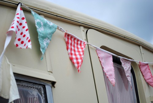 Bunting at Vintage at Goodwood