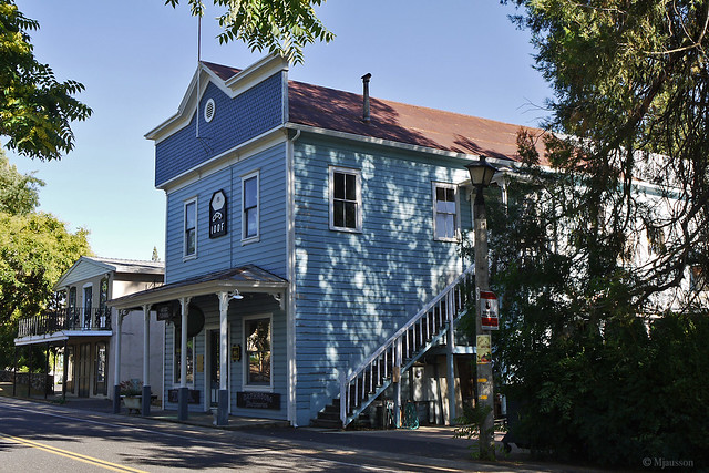 Odd Fellows house in Murphys
