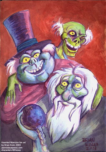 HitchHiking Ghosts fan art (2003)