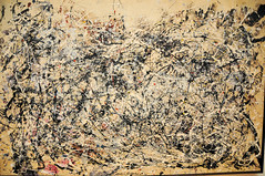 Jackson Pollock - Number 1A, 1948 at MoMA New York (mbell1975) Tags: new york city usa ny art 1948 museum modern painting us gallery museu moma muse jackson musee m number museumofmodernart museo pollock 1a muzeu