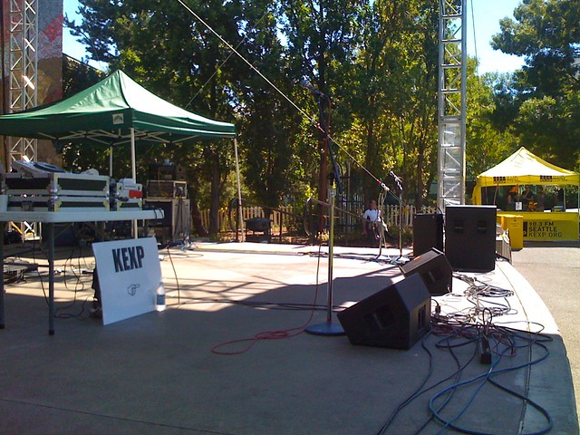 the stage is set for KEXP