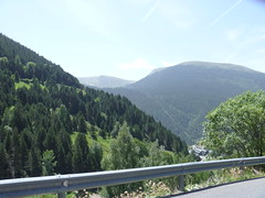 Mountain view of Andorra