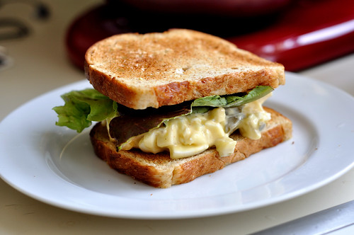 Cucumber and Egg Salad