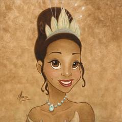 Princess Tiana Portrait