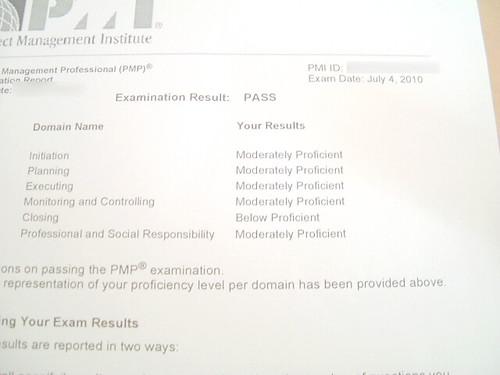 PMP-result