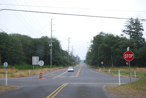 SR 105 @ SR 105 spur