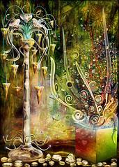 TREASURE (Cornelia Mladenova) Tags: tree treasure crystal shapes particles