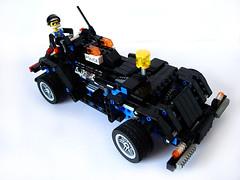 Futuristic Police Cabrio