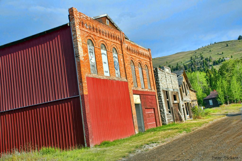 Marysville Montana semi ghost town