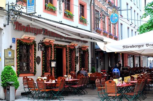 Nürnberger Bratwurst Glöckl am Dom - Munich