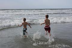 Boys at the Ocean