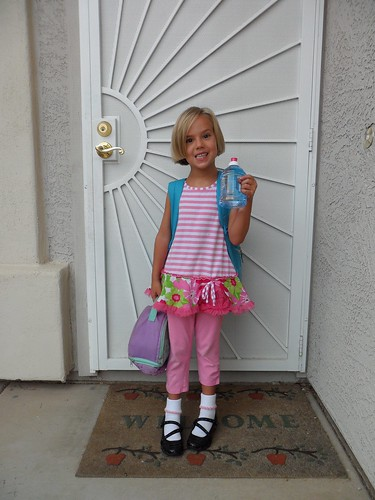 Annie's first day of 1st Grade