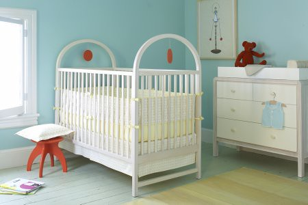 Q Collection Jr. Turquoise Nursery