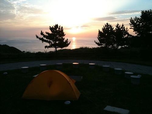 恵山岬の朝陽