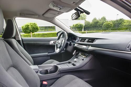 Lexus Ct200h Interior Photos. Lexus CT 200h pre-production