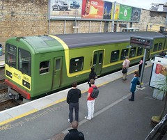 dart 8613 (irishmanufan) Tags: dublin irish car rail class corporation transit area multiple electrical rapid dart dun unit tokyu laoghaire eireann 8510 iranrod