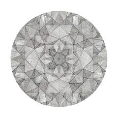 what to do if you find a portal (Optimystic Arts) Tags: pen ink mandala portal dimension chakra sacredgeometry merkaba merkabah starcode