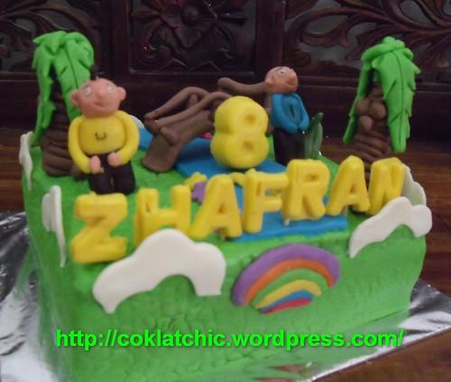 Upin dan ipin cake – ZHAFRAN