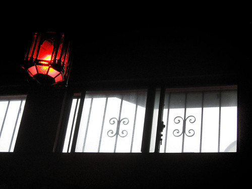 Window and Lamp