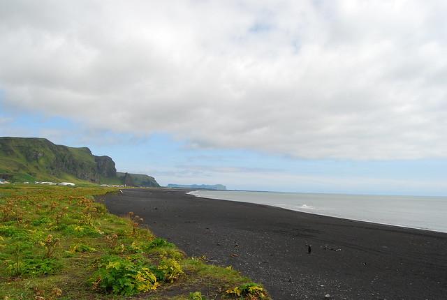 Las playas de arena negra de Vík
