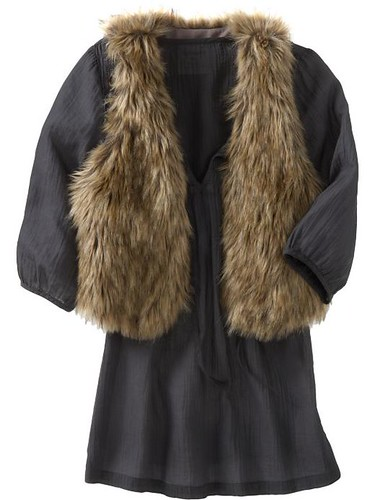 Old Navy Faux Fur Vests