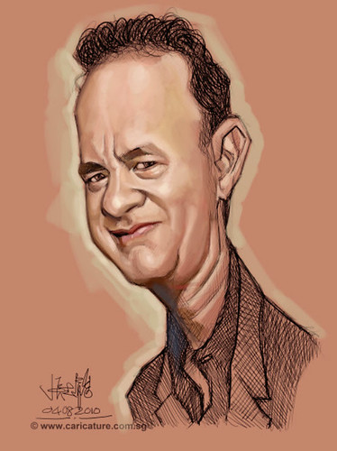 Schoolism - Assignment 1 - Caricature of Tom Hanks - 01 small