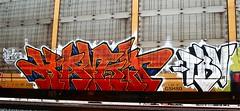 Kamit TBV (mightyquinninwky) Tags: railroad train graffiti tag graf tracks railway tags tagged railcar rails graff graphiti freight trainart rollingstock fr8 railart freightcar movingart kamit paintedsteel freightart paintedfreight taggedrailcar taggedfreight theburnvictims