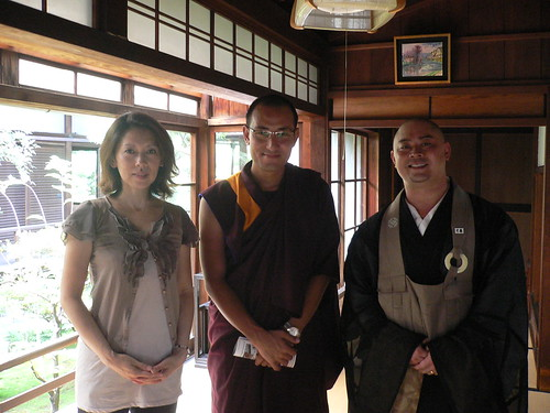 with Rinpoche & Taka