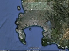 capetown @ google earth
