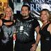 Darla Enlow, Sergio Guerra, & Dana Pike at The Horrific Film Fest 2009