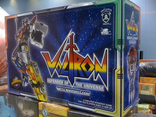 Voltron: Defender of the Universe, cc by-nc-sa image from john Cmar on Flickr