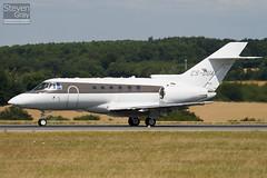 CS-DUA - HB-0004 - Netjets Europe - Hawker Beechcraft 750 - Luton - 100805 - Steven Gray - IMG_1168