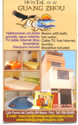 nazca hotel guang zhou voor