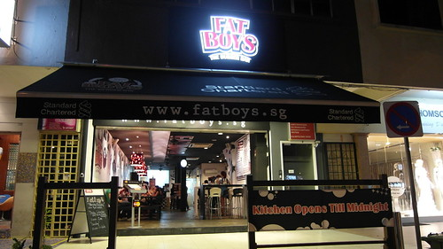 Fatboy's - A specialist burger joint along Upper Thomson Road, Singapore.